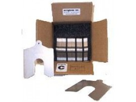 "Installer Kit Lainas Calibradas de Acero Inoxidable 4"" x 4"""
