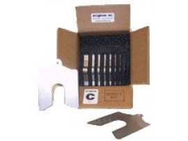 "Service Kit Lainas Calibradas de acero inoxidable 4"" x 4"""