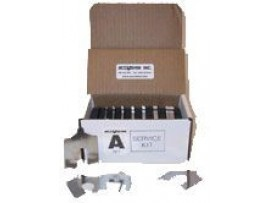 "Service Kit Lainas Calibradas de Acero Inoxidable 2""x 2"""