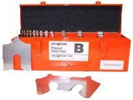 "Lainas Calibradas de Acero Inoxidable 3""x 3"" Full Kit"