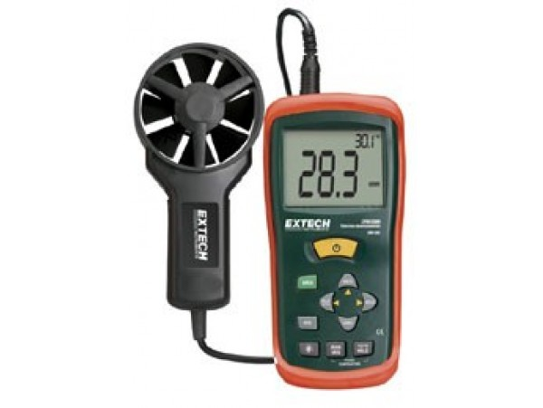 Extech AN100 CFM/CMM Thermo-Anemometer